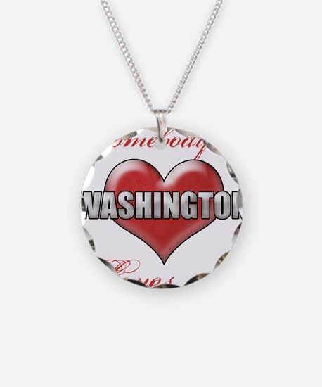 Somebody In Washington Loves Necklace