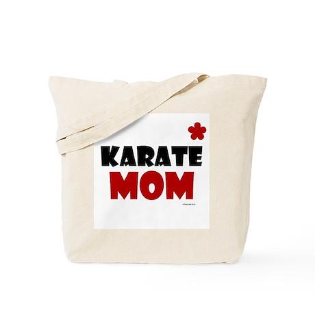Karate Mom 1 (Cinnamon) Tote Bag