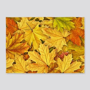 Autumn Leaves 5'x7'Area Rug