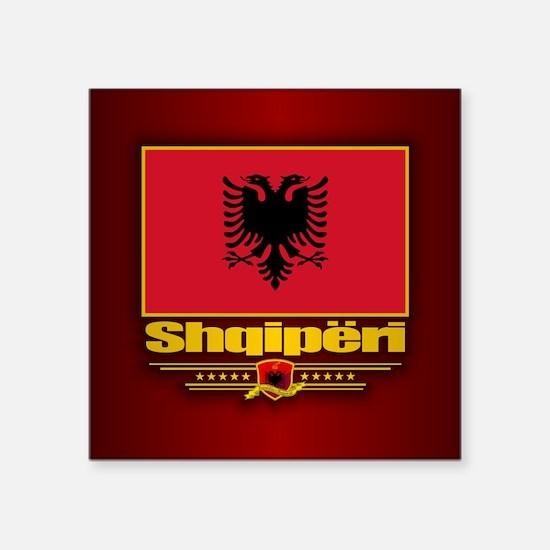 Albanian Flag Sticker