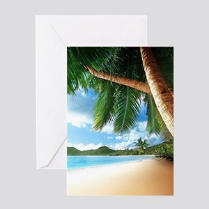 Beautiful Beach Greeting Cards