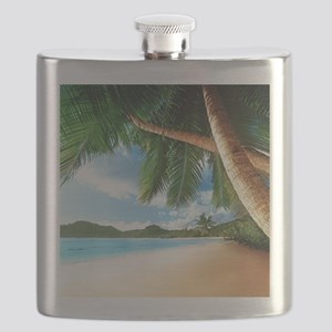Beautiful Beach Flask