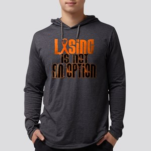 Losing Is Not An Option 5 ORANGE Long Sleeve T-Shi