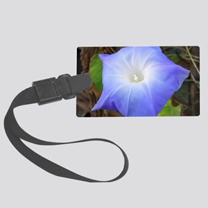 Morning Glory Large Luggage Tag