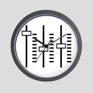 Audio Balance Control Wall Clock