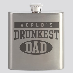 World's Drunkest Dad Flask