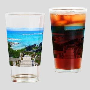 Church Bay Bermuda Tropical Beach Drinking Glass