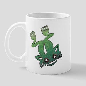 Psychedelic Tribal Frog Mug