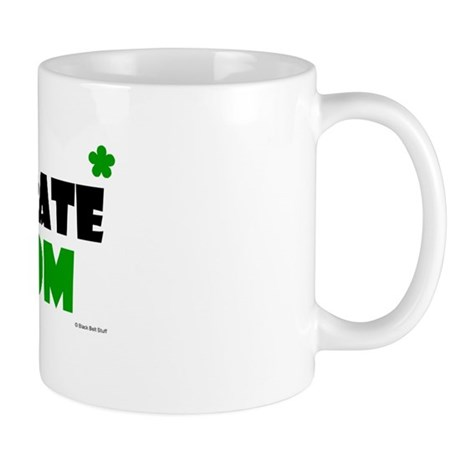 Karate Mom 1 (Grass) Mug