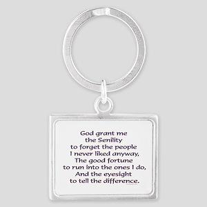 God grant me the Senility Keychains