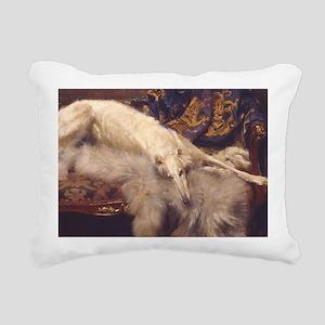 Lounging Zoi Rectangular Canvas Pillow