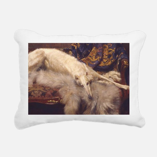 Lounging Zoi Rectangular Canvas Pillow