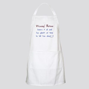 Warning: Retiree Apron