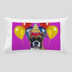 Birthday Boxer puppy Pillow Case