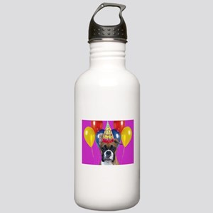 Birthday Boxer puppy Stainless Water Bottle 1.0L