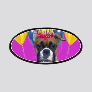 Birthday Boxer puppy Patches