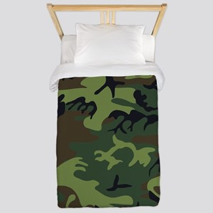 Combat Army Camouflage Twin Duvet