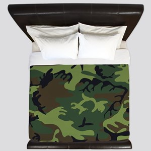 Combat Army Camouflage King Duvet