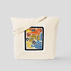 Mexican Aztec Eagle Tote Bag