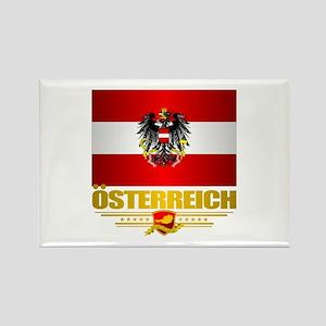 Austrian Flag & COA Magnets