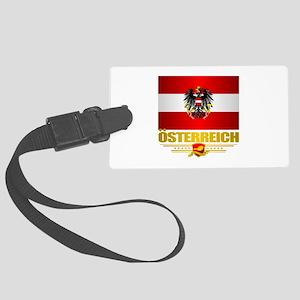 Austrian Flag & COA Luggage Tag