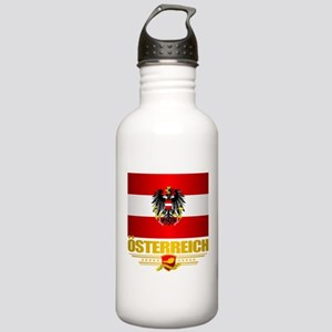 Austrian Flag & COA Water Bottle