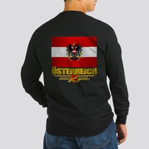 Austrian Flag & Coa Long Sleeve T-Shirt