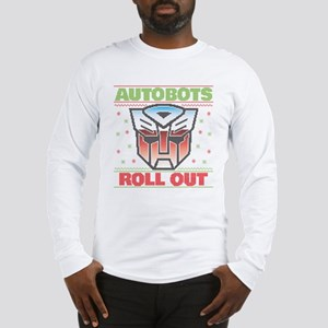 Transformers Autobots Roll Out Long Sleeve T-Shirt