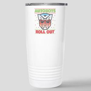 Transformers Auto 16 oz Stainless Steel Travel Mug