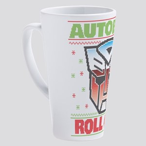 Transformers Autobots Roll Out 17 oz Latte Mug