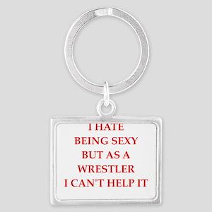 wrestler Keychains