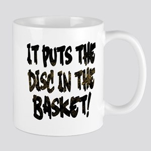 It Puts the Disc in the Basket Mugs