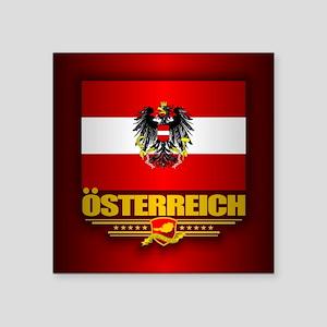 Austrian Flag & COA Sticker