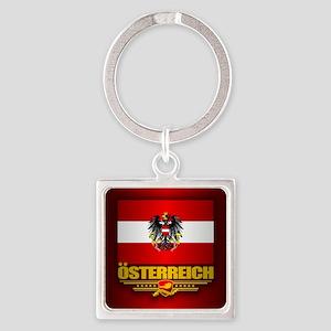 Austrian Flag & COA Keychains