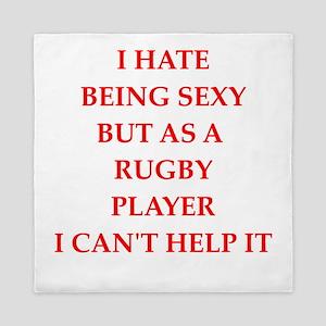 rugby Queen Duvet