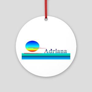 Adriana Ornament (Round)
