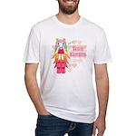 Kawaii Kumako Fitted T-Shirt