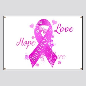 Survivor Love Hope Cure Banner