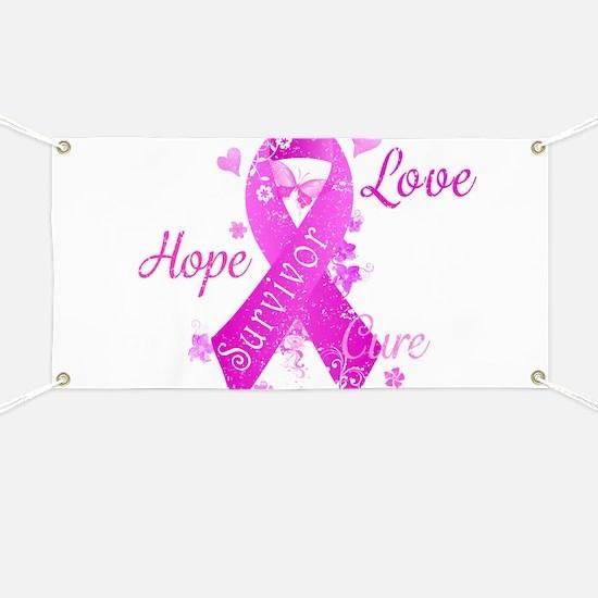 Survivor Love Hope Cure Banner