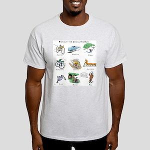 Bikes of the Animal Kingdom Light T-Shirt