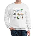 Bikes of the Animal Kingdom Sweatshirt