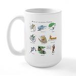 Bikes of the Animal Kingdom Large Mug
