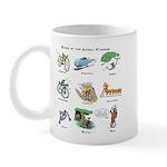 Bikes of the Animal Kingdom Mug