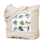 Bikes of the Animal Kingdom Tote Bag