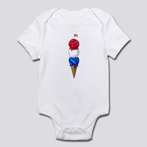 July Triple Treat Infant Bodysuit