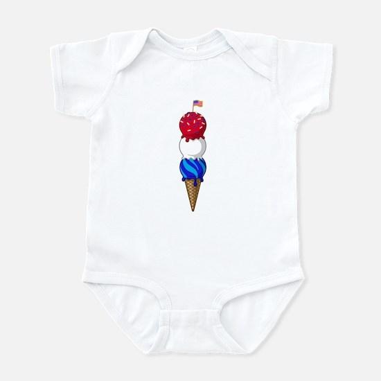 July Triple Treat Infant Bodysuit