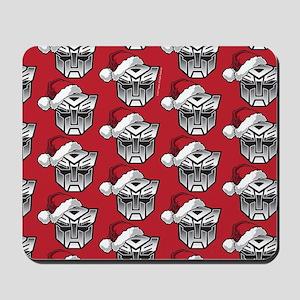 Transformers Auto Santa Mousepad