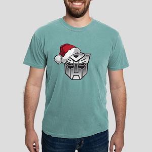 Transformers Auto Santa Mens Comfort Colors Shirt