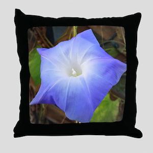 Morning Glory Throw Pillow
