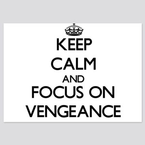 Keep Calm by focusing on Vengeance Invitations